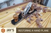 Restoring a Hand Plane – Stanley Bailey #5