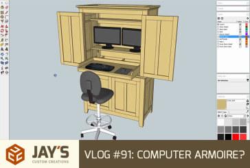 Vlog #91: Computer Armoire?