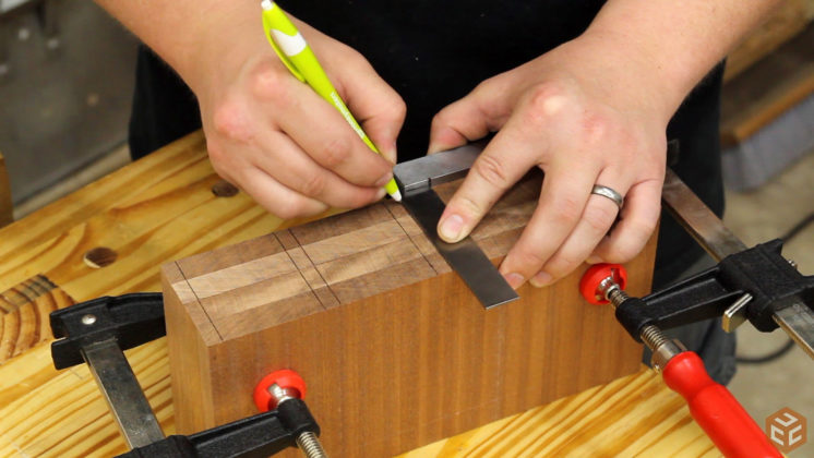 hand cut dovetail utensil shelves (13)