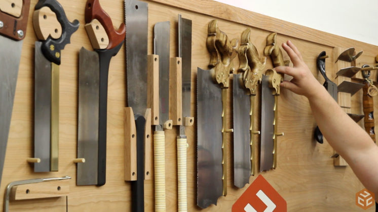 hand cut dovetail utensil shelves (14)