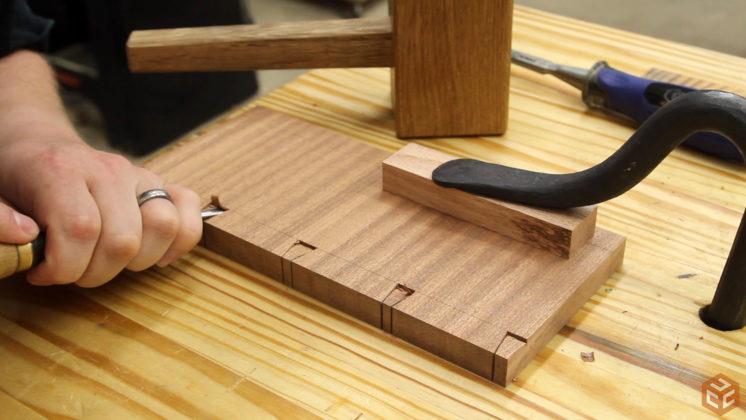 hand cut dovetail utensil shelves (17)