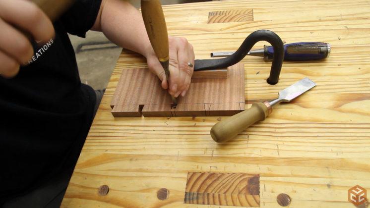 hand cut dovetail utensil shelves (19)