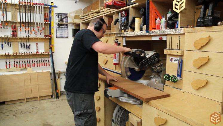 hand cut dovetail utensil shelves (2)