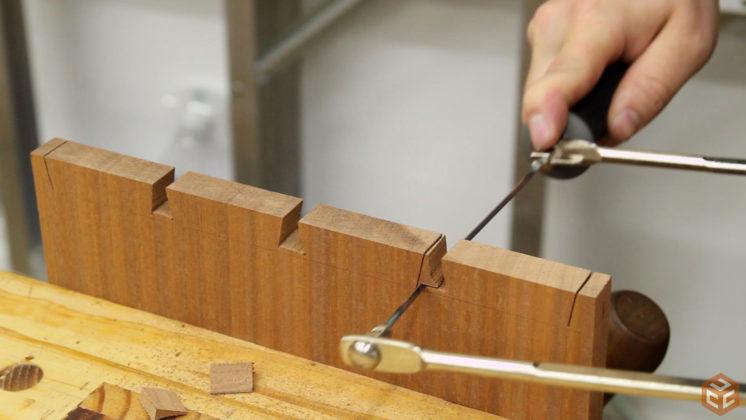 hand cut dovetail utensil shelves (22)