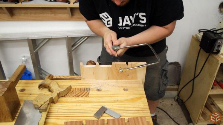 hand cut dovetail utensil shelves (27)