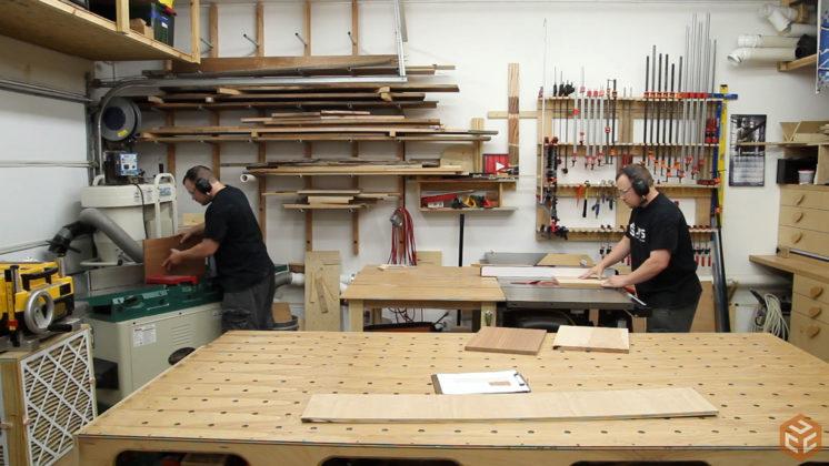 hand cut dovetail utensil shelves (6)