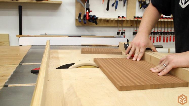 hand cut dovetail utensil shelves (7)