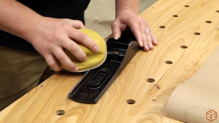 restore hand plane stanley bailey 5 (21)