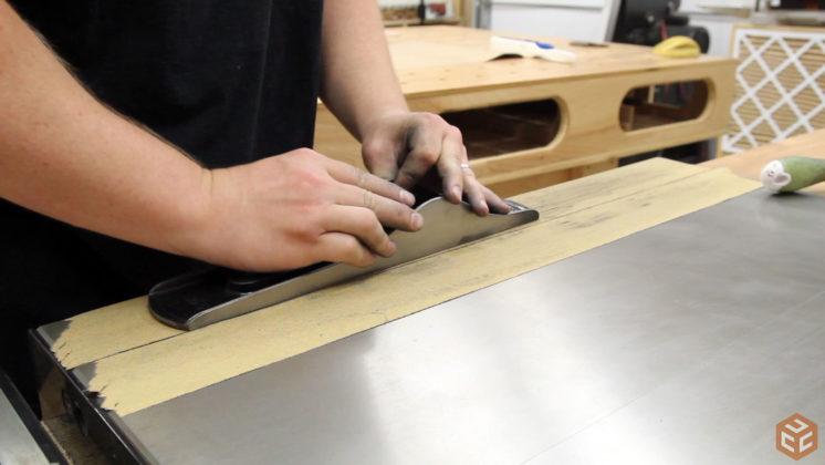 restore hand plane stanley bailey 5 (22)
