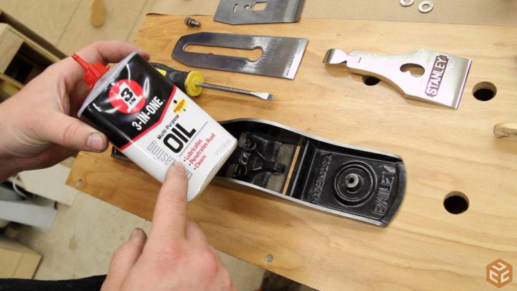 restore hand plane stanley bailey 5 (30)