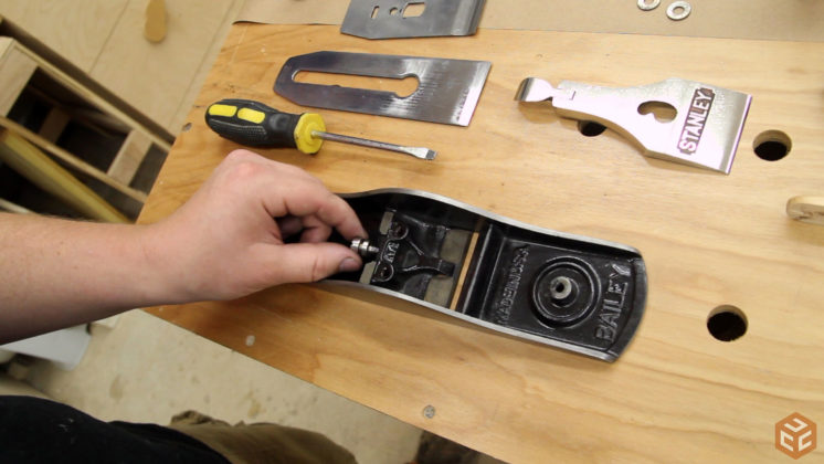restore hand plane stanley bailey 5 (31)