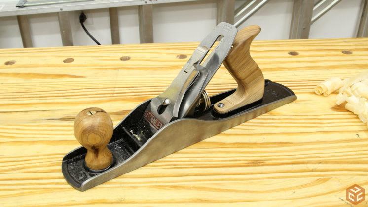 restore hand plane stanley bailey 5 (44)