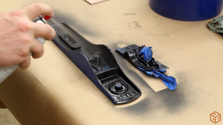 restore hand plane stanley bailey 5 (6)