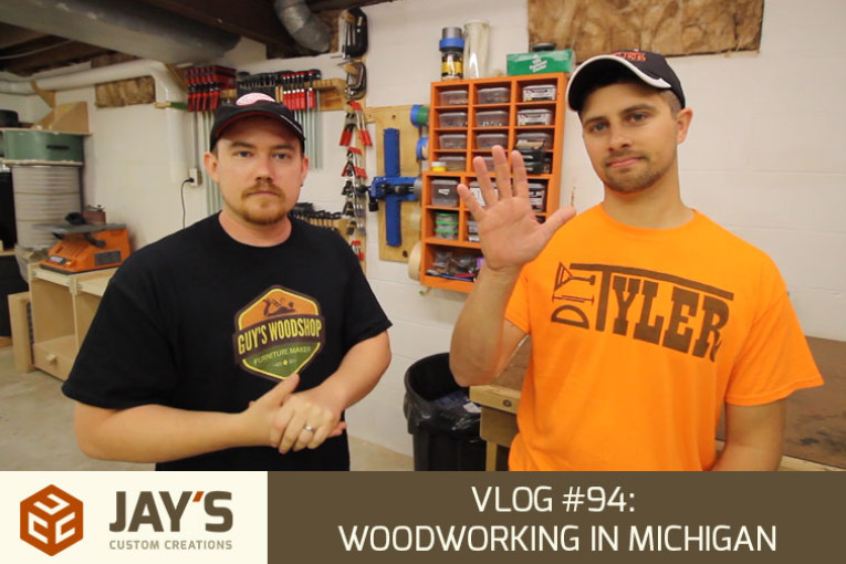 Vlog #94: Woodworking In Michigan