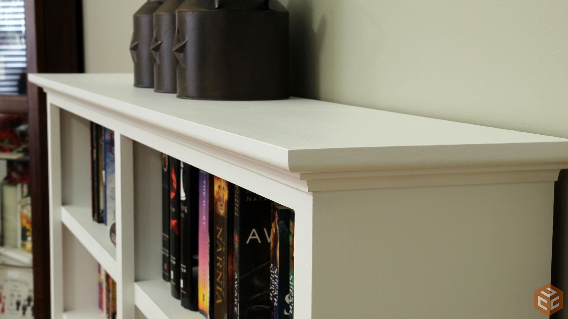 Amazing photo of How To Build A Bookcase Jays Custom Creations with #A0712B color and 1920x1080 pixels