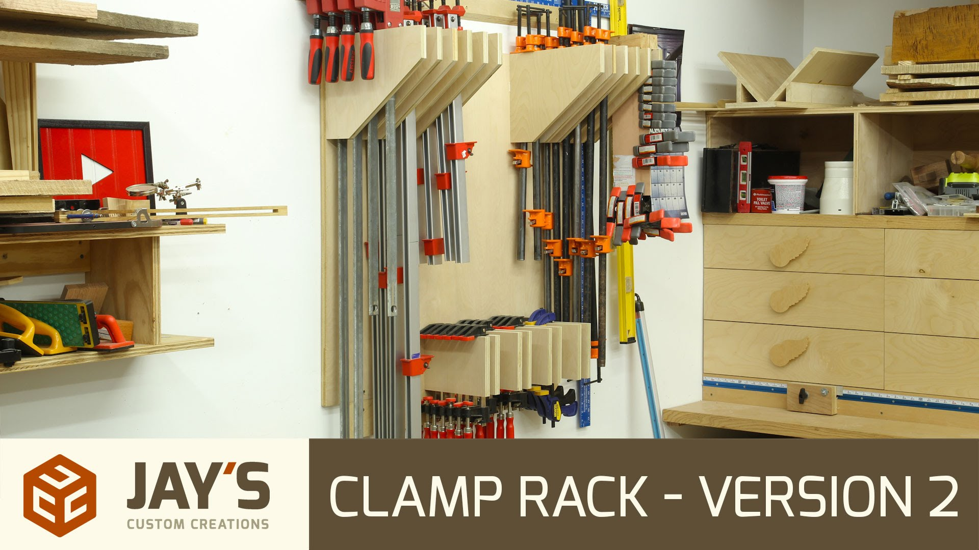 Clamp Rack Version 2 Jays Custom Creations