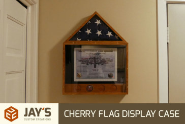 A Cherry Flag Display Case | Collaboration
