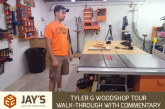 Tyler G Woodshop Tour – Walk-through With Commentary