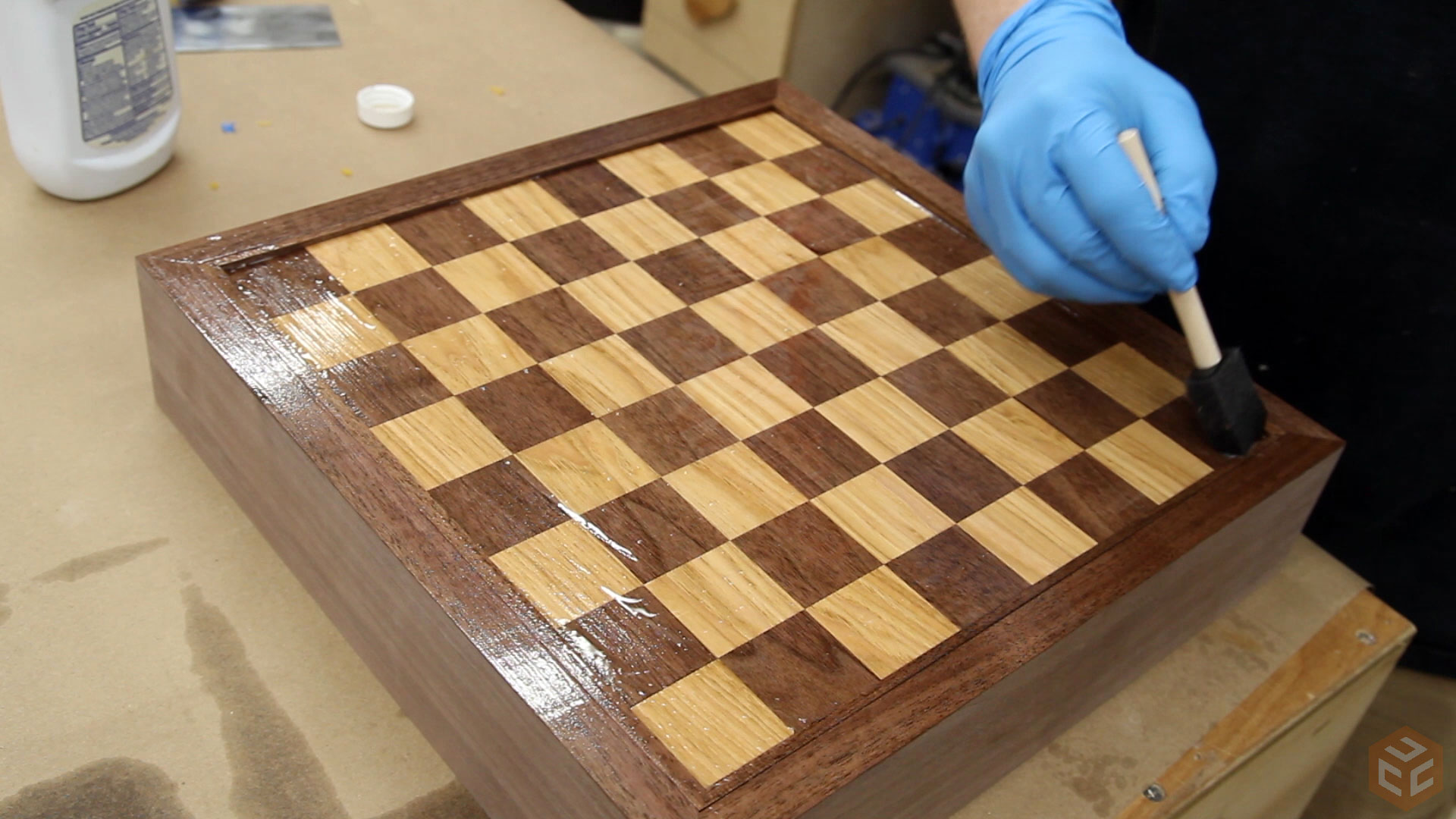 Making A Custom Chess Board Box Jays Custom Creations
