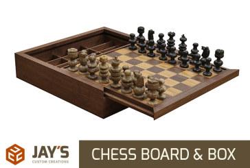 Making a Custom Chess Board & Box
