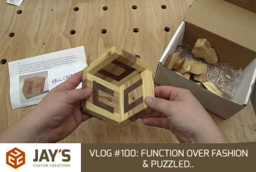Vlog #100: Function over Fashion & Puzzled..
