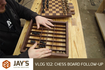 Vlog #102: Chess Board Follow-Up & My Dog House 2 Years Later