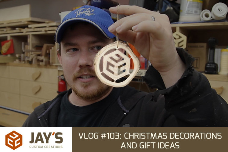 Vlog #103: Christmas decorations and gift ideas