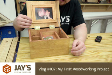 Vlog #107: My First Woodworking Project