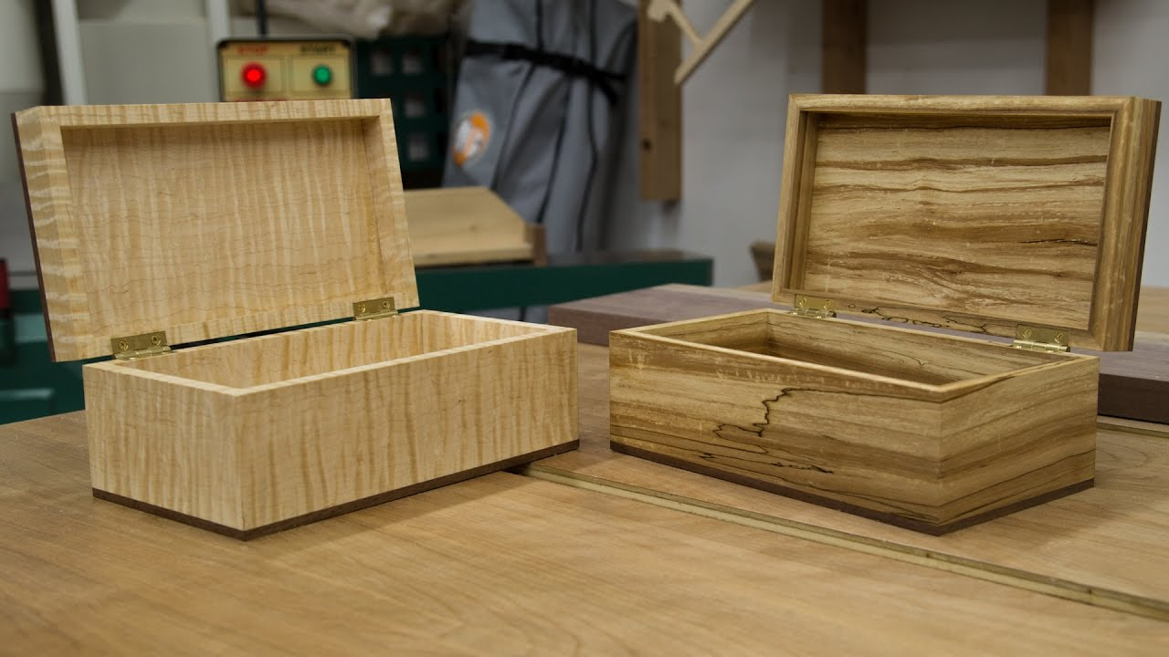 how to make a wooden box jays custom creations. Black Bedroom Furniture Sets. Home Design Ideas