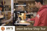 Jason Barlow Shop Tour