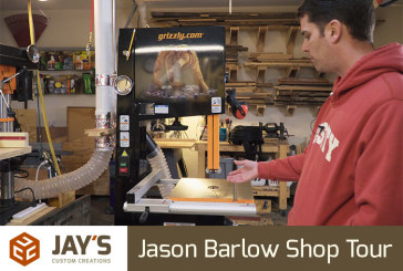 Jason Barlow Shop Tour