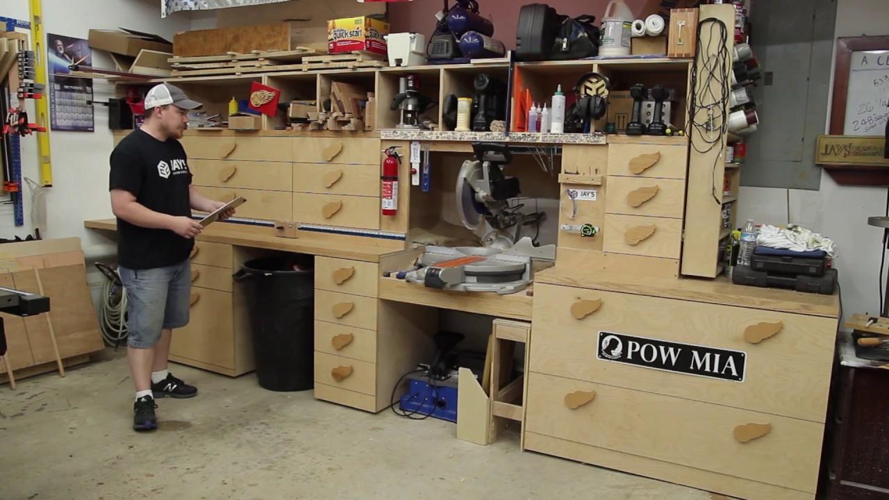 Tool Talk 15 My Miter Saw Station Jays Custom Creations