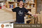 Crafted Workshop – Shop Tour