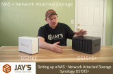 Setting up a NAS – Network Attached Storage – Synology DS1515+