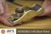INCREDIBLE Infill Block Plane