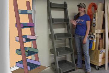 PROJECT PLAN – April Wilkerson – Ladder Shelf