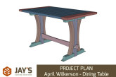 PROJECT PLAN – April Wilkerson – Dining Table