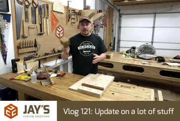 Vlog 121: Update on a lot of stuff