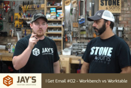 I Get Email #02 – Workbench vs Worktable