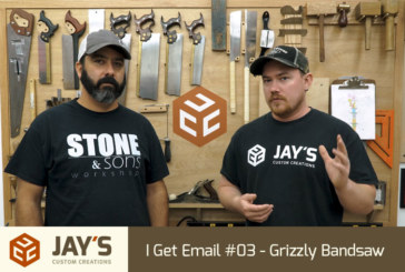 I Get Email #03 – Grizzly Bandsaw
