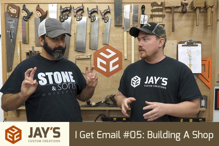 I Get Email #05: Building A Shop