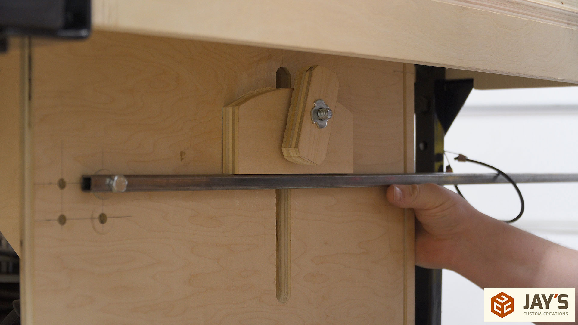 how to make cabinet doors with a router