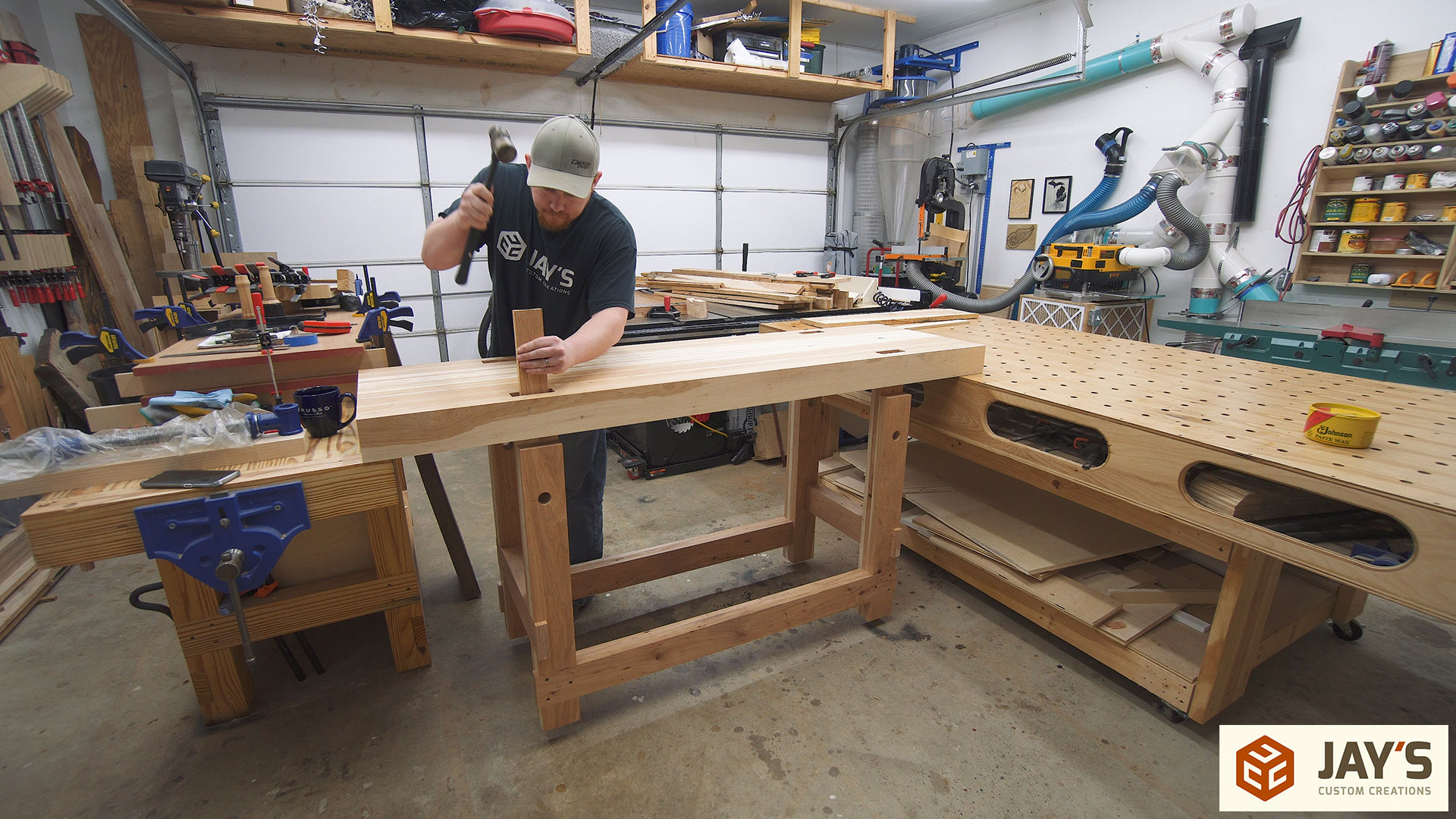 Super A Hickory Woodworking Workbench Jays Custom Creations Pdpeps Interior Chair Design Pdpepsorg