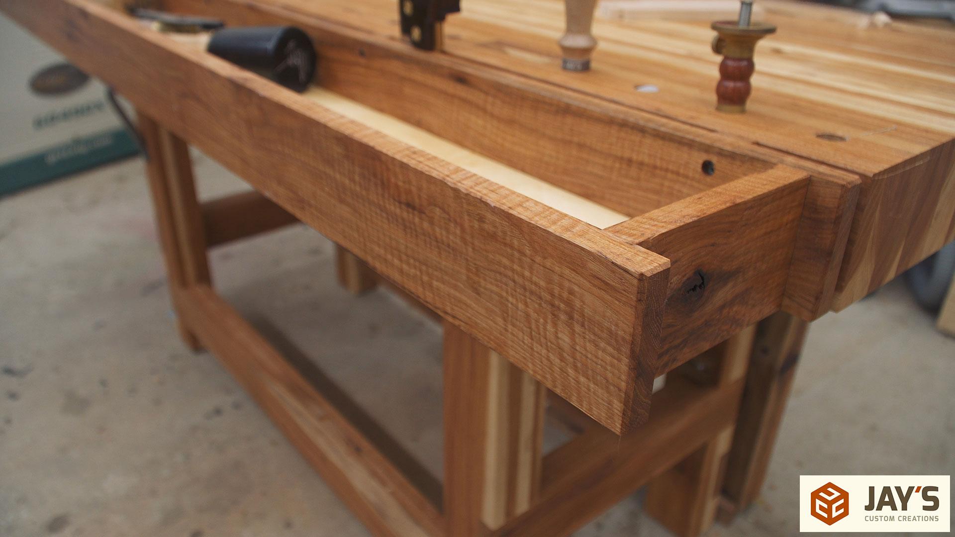 Super Adding A Tool Well To A Workbench Jays Custom Creations Frankydiablos Diy Chair Ideas Frankydiabloscom