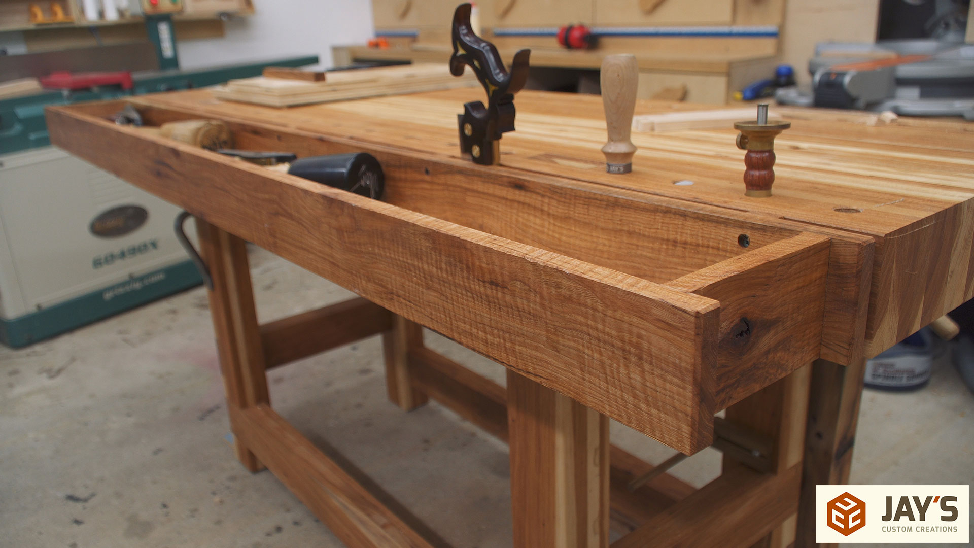 Adding A Tool Well To A Workbench Jays Custom Creations