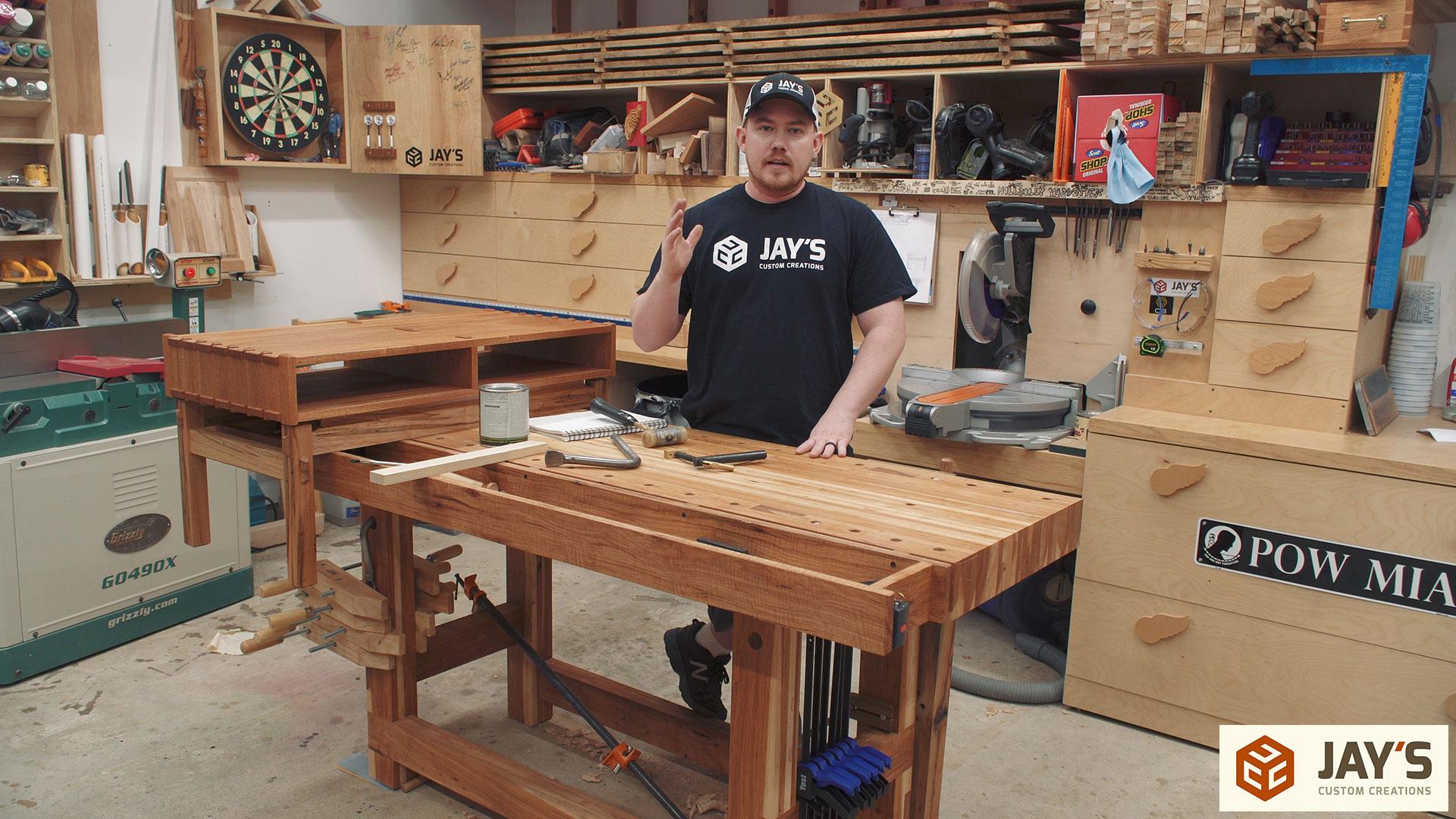 Softwood Workbench VS Hardwood Workbench | Jays Custom Creations