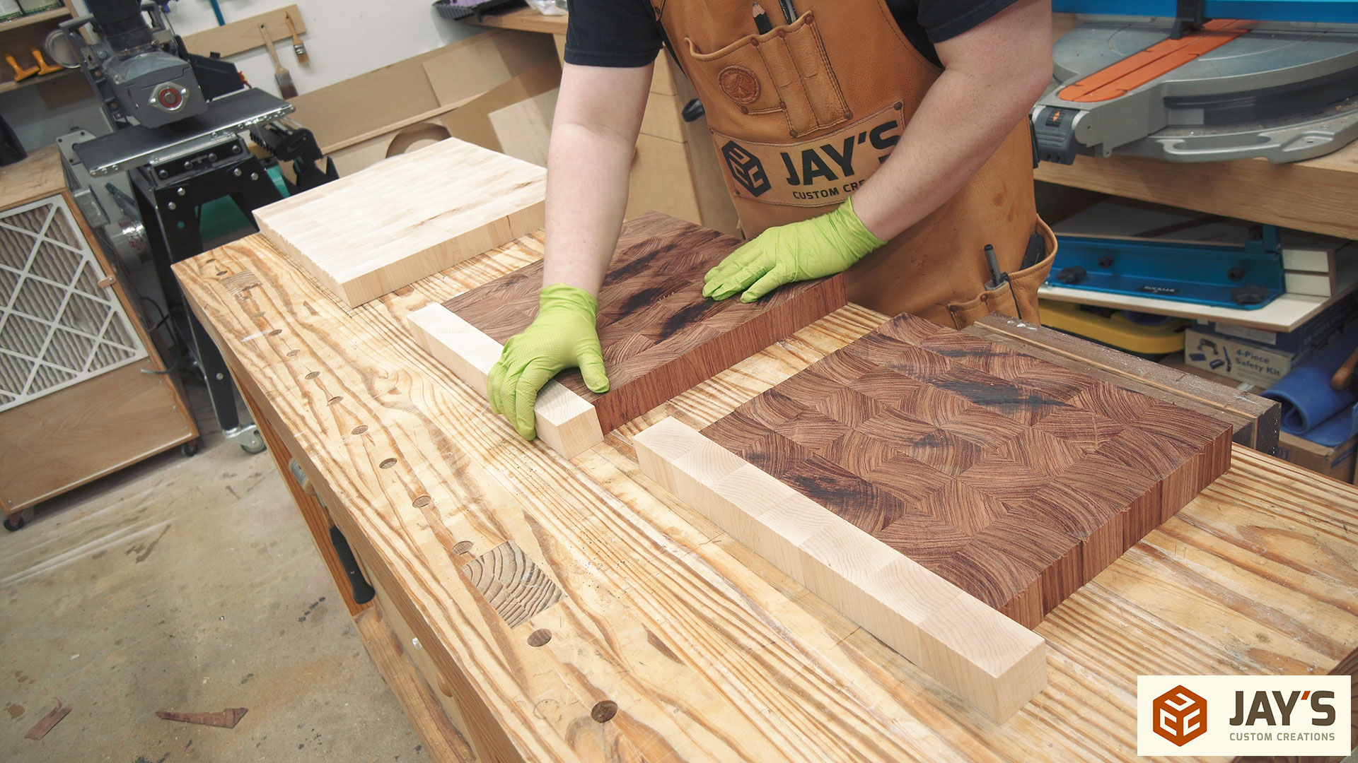 Inlay End Grain Boards Lessons Learned Jays Custom Creations