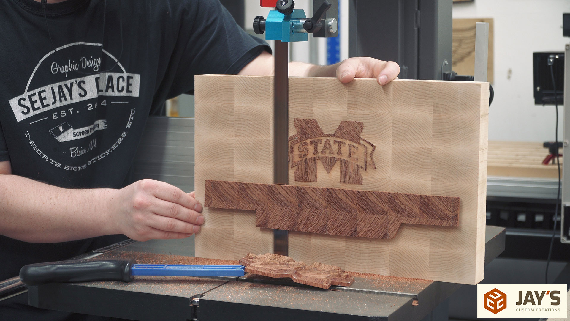 Inlay End Grain Boards – Lessons Learned | Jays Custom Creations
