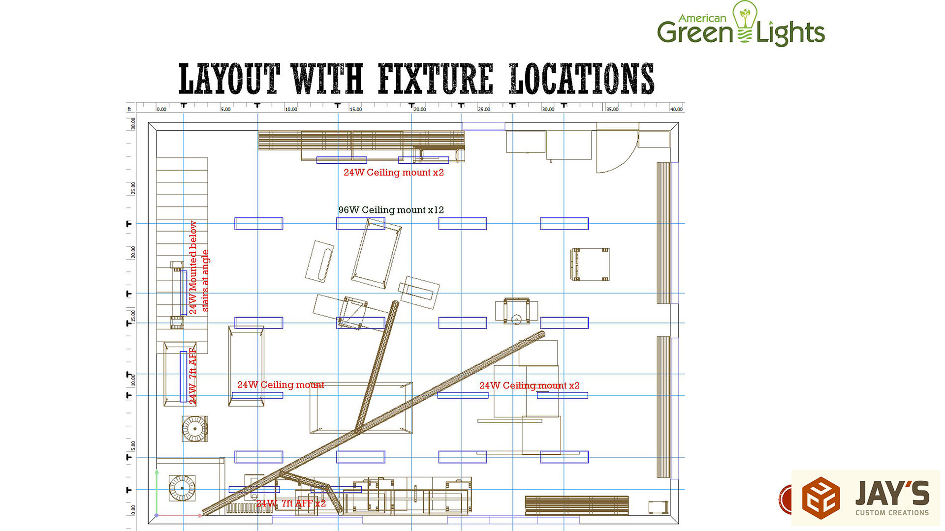 fluorescent wiring diagrams row 30  40 shop part 5 electrical  lighting  and security jays  30  40 shop part 5 electrical  lighting