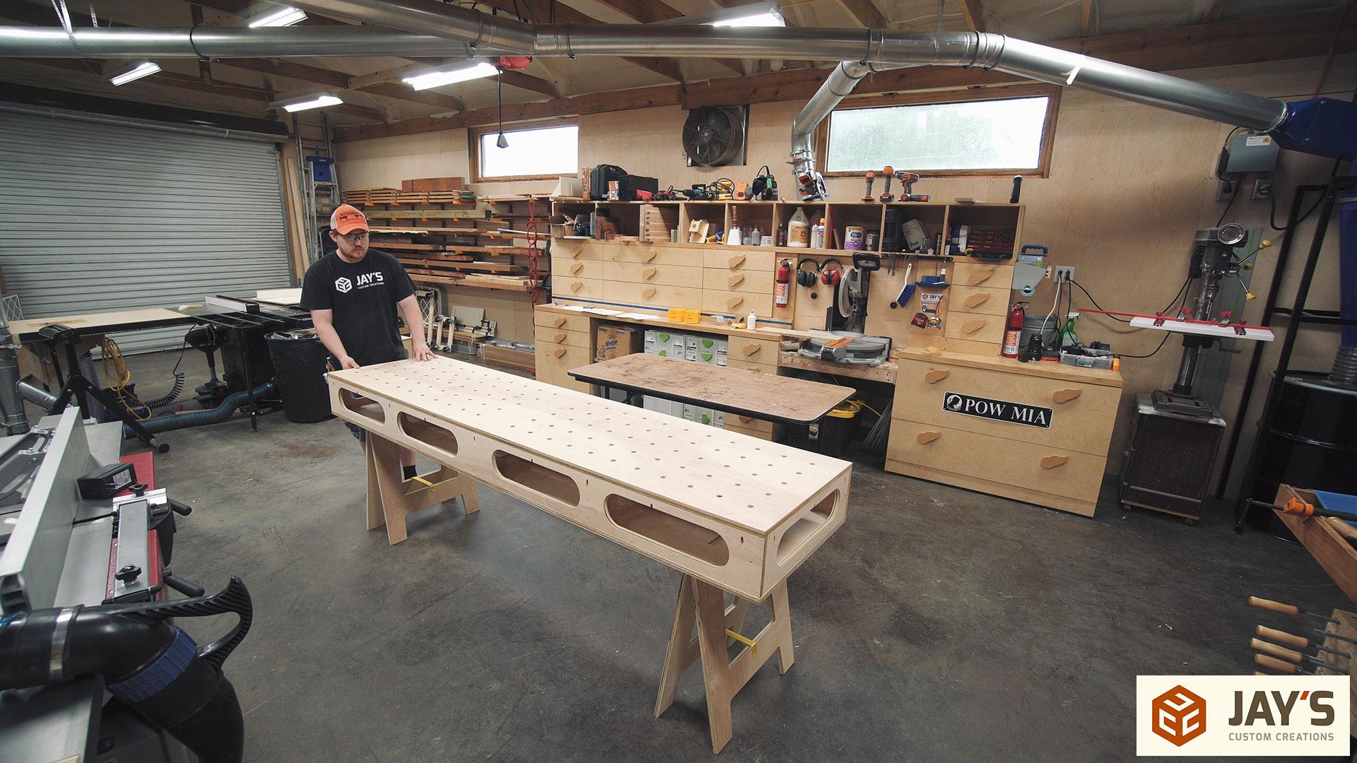 Amazing My Temporary Assembly Table Jays Custom Creations Evergreenethics Interior Chair Design Evergreenethicsorg